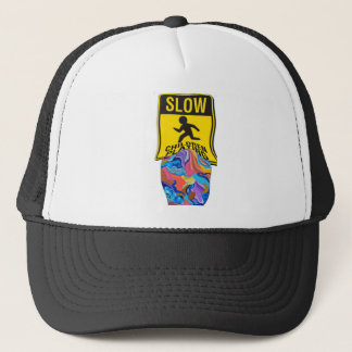 Blossom Slow Playing Trucker Hat