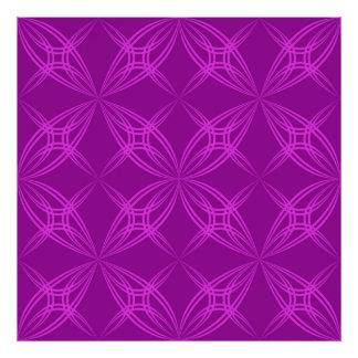 Blossom symmetry photo print