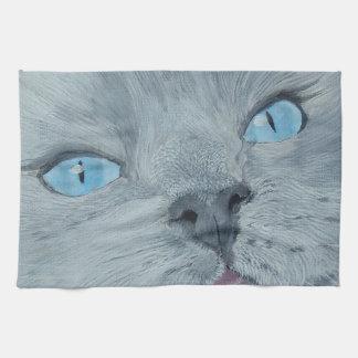 Blossom the Ragdoll Cat Hand Towel