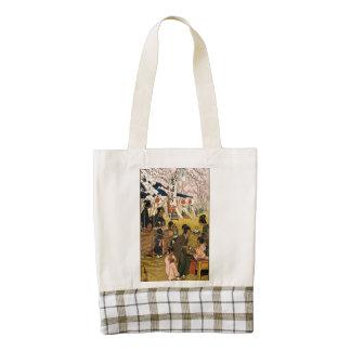 Blossom time in Tokyo Zazzle HEART Tote Bag