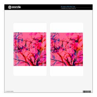 Blossom Tree Skins For Kindle Fire