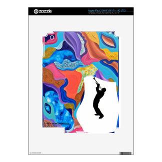 Blossom Trombone Skin For iPad 3