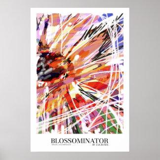 Blossominator poster art print