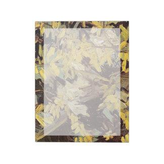 Blossoming Acacia Branches Vincent van Gogh. Note Pad