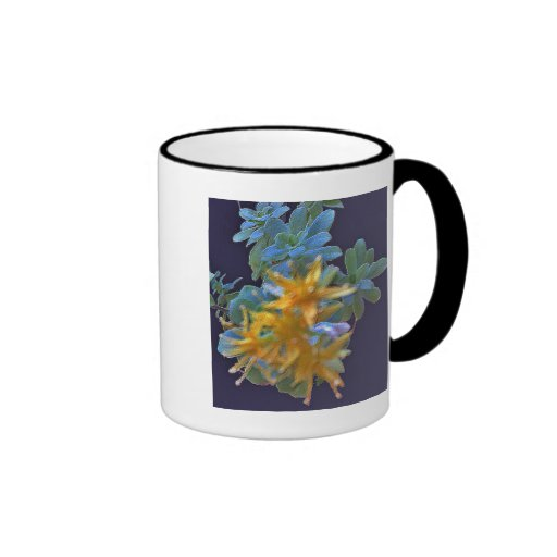 Blossoming Aeonium Coffee Mugs