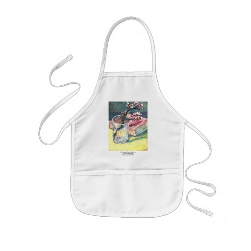 Blossoming Almond Branch...by Vincent van Gogh Kids' Apron