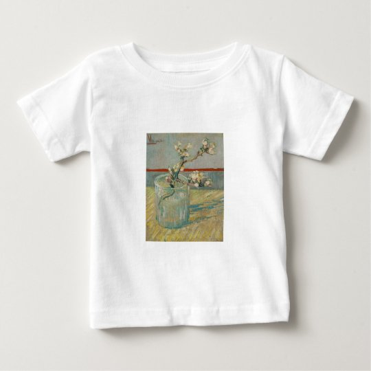 Blossoming Almond Branch by Vincent van Gogh Baby T-Shirt