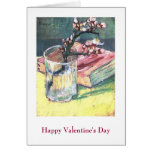 Blossoming Almond Branch.. by Vincent van Gogh Card