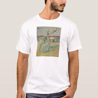 Blossoming Almond Branch by Vincent van Gogh T-Shirt