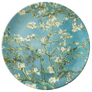 Blossoming Almond Porcelain Plates