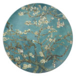 Blossoming Almond Tree (1890) by Van Gogh Plate