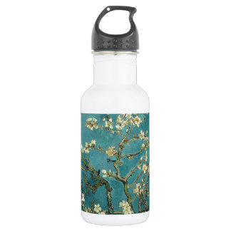Blossoming Almond Tree (1890) by Van Gogh Stainless Steel Water Bottle