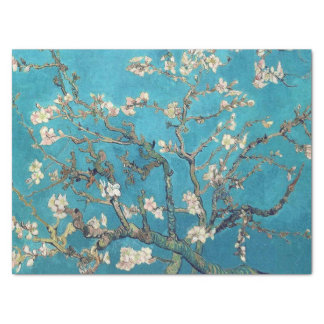 """Blossoming Almond Tree by Van Gogh 15"""" X 20"""" Tissue Paper"""