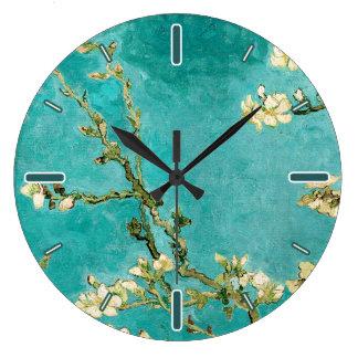 Blossoming Almond Tree by Van Gogh Clocks