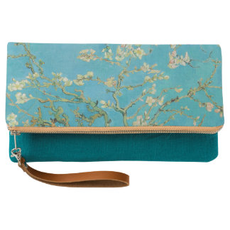 Blossoming Almond Tree by Van Gogh Clutch