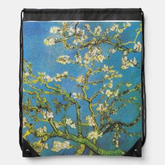 Blossoming Almond Tree by Van Gogh Drawstring Bag
