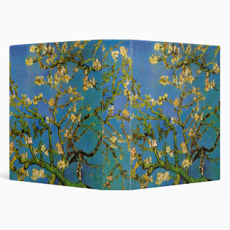 Blossoming Almond Tree by Van Gogh, Fine Art 3 Ring Binder