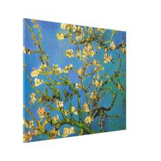 Blossoming Almond Tree by Van Gogh, Fine Art Canvas Print