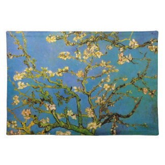 Blossoming Almond Tree by Van Gogh, Fine Art Cloth Placemat