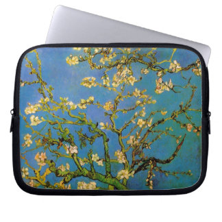 Blossoming Almond Tree by Van Gogh, Fine Art Laptop Computer Sleeve