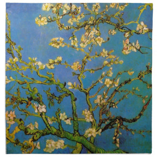 Blossoming Almond Tree by Van Gogh, Fine Art Napkin