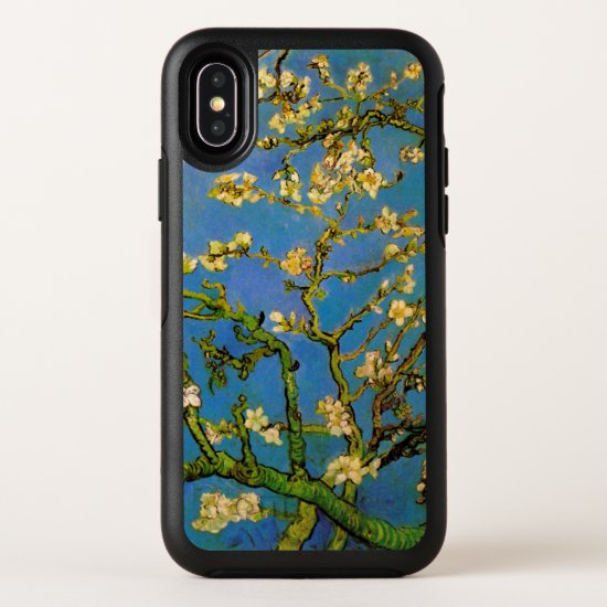 Blossoming Almond Tree by Van Gogh, Fine Art OtterBox Symmetry iPhone X Case