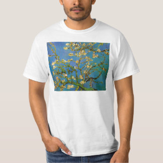 Blossoming Almond Tree by Van Gogh, Fine Art T-Shirt