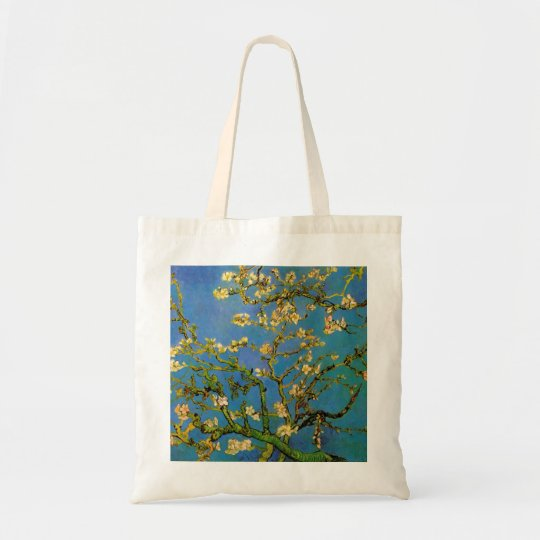 Blossoming Almond Tree by Van Gogh, Fine Art Tote Bag