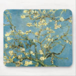 Blossoming Almond Tree by Van Gogh Mousepads