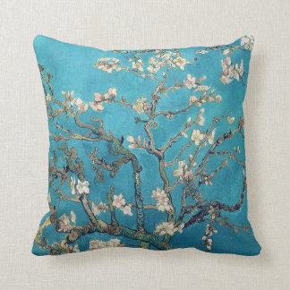 Blossoming Almond Tree by Van Gogh Throw Pillow
