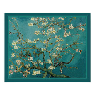 Blossoming Almond Tree by Van Gogh Posters