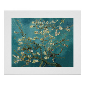 Blossoming Almond Tree by Van Gogh Print