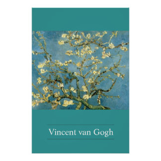 Blossoming Almond Tree by van Gogh Poster Print
