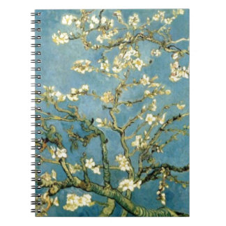 Blossoming Almond Tree by Van Gogh Spiral Notebook