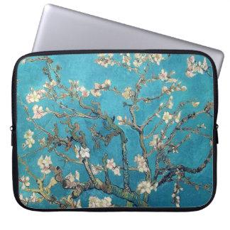Blossoming Almond Tree by Van Gogh Vintage Computer Sleeves