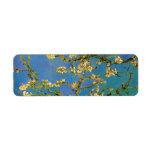 Blossoming Almond Tree by Van Gogh, Vintage Flower Custom Return Address Labels