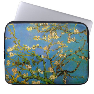 Blossoming Almond Tree by Van Gogh, Vintage Flower Laptop Computer Sleeve