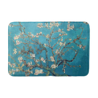 Blossoming Almond Tree by Vincent van Gogh Bath Mats