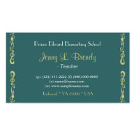 Blossoming Almond Tree by Vincent van Gogh. Business Cards