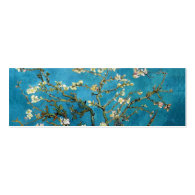 Blossoming Almond Tree by Vincent van Gogh. Business Card Templates