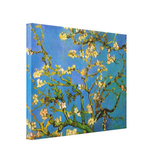 Blossoming Almond Tree by Vincent van Gogh Canvas Print