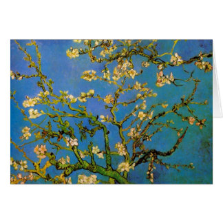 Blossoming Almond Tree by Vincent van Gogh Greeting Card