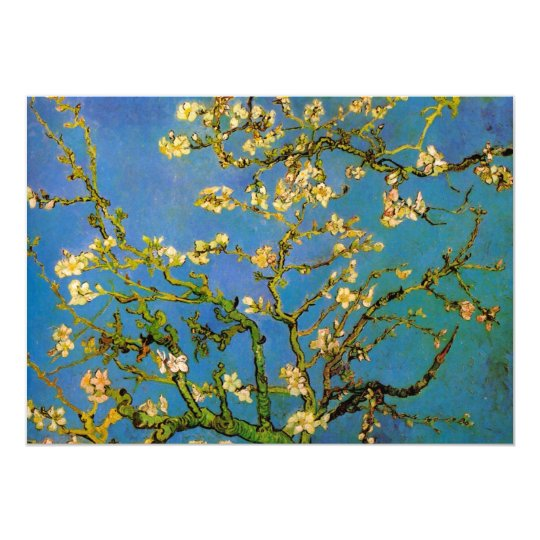 Blossoming Almond Tree by Vincent van Gogh Card