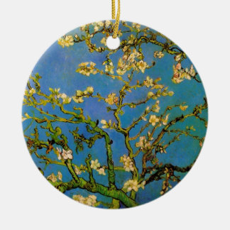 Blossoming Almond Tree by Vincent van Gogh Ceramic Ornament