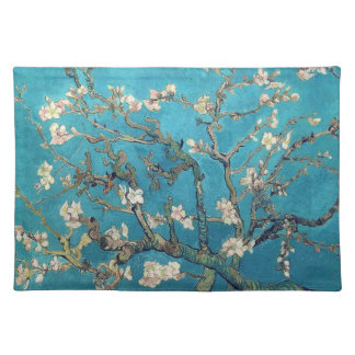 Blossoming Almond Tree by Vincent van Gogh Cloth Place Mat
