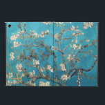 "Blossoming Almond Tree by Vincent van Gogh Cover For iPad Air<br><div class=""desc"">An iPad Air case with the Post-Impressionist oil painting,  Blossoming Almond Tree (1890),  by Vincent van Gogh (1853-1890). White and pink blossoms on an aqua background.</div>"