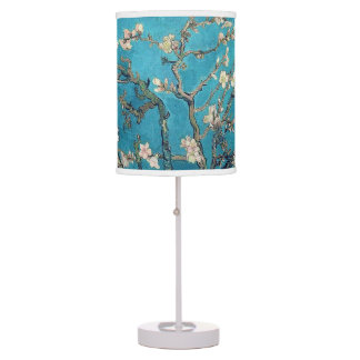 Blossoming Almond Tree by Vincent van Gogh Desk Lamp