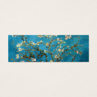 Blossoming Almond Tree by Vincent van Gogh. Mini Business Card