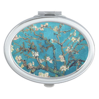 Blossoming Almond Tree by Vincent van Gogh Makeup Mirror