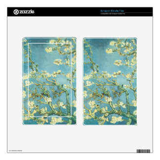 Blossoming Almond Tree by Vincent Van Gogh Kindle Fire Decals
